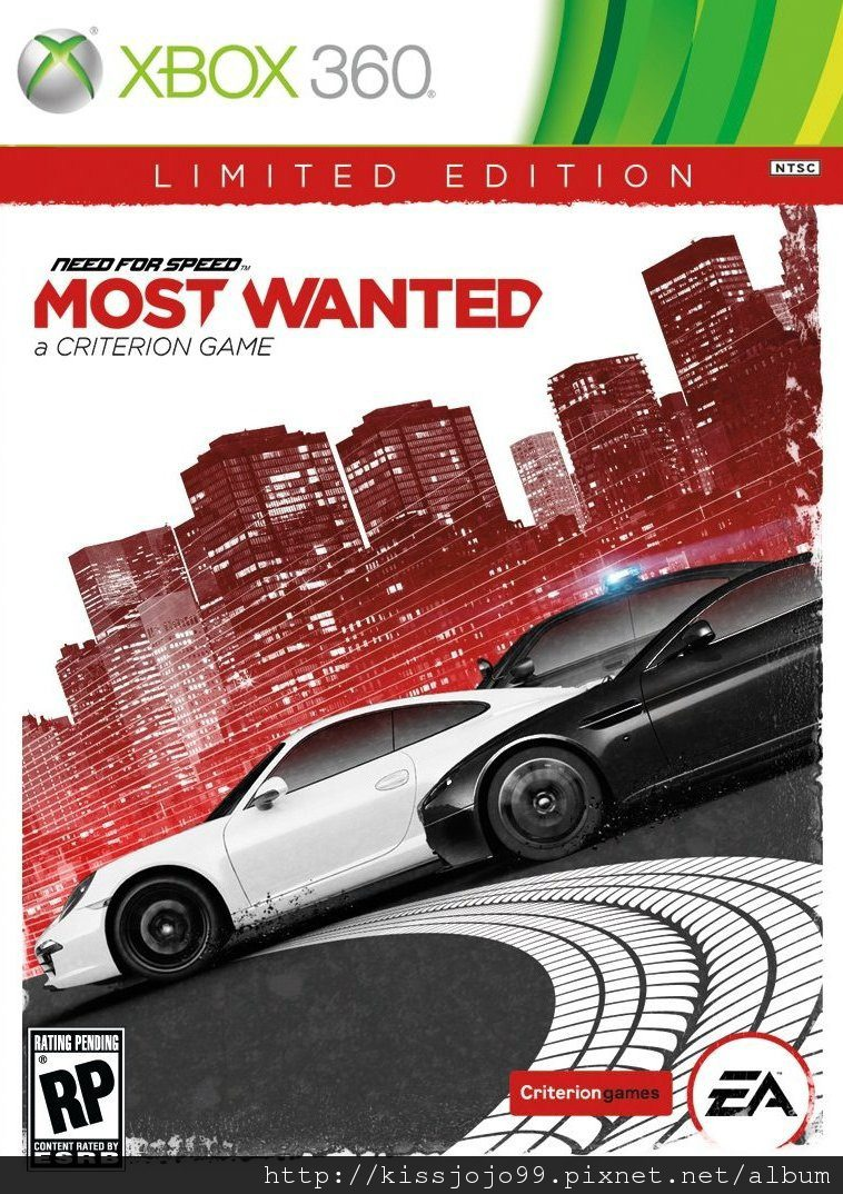 Xbox360[遊戲介紹+ 破解版本訊息]Need for Speed:Most Wanted 極速快感17 全民公敵2